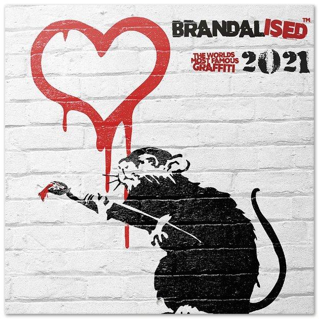 Calendrier 2021 Brandalised Banksy | ideecadeau.ch