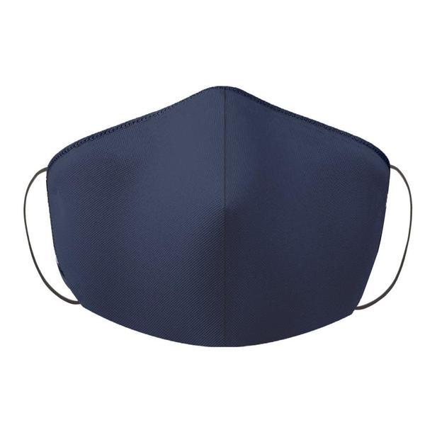 Masque de protection bleu foncé