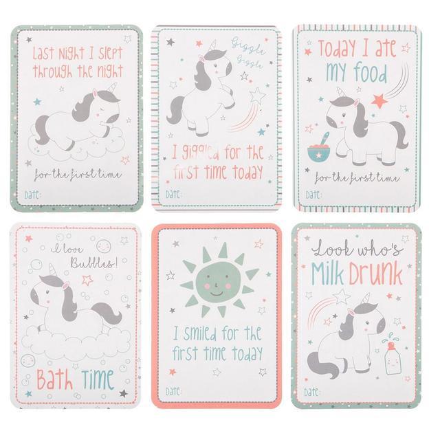 Baby Meilenstein-Karten, 32-teilig