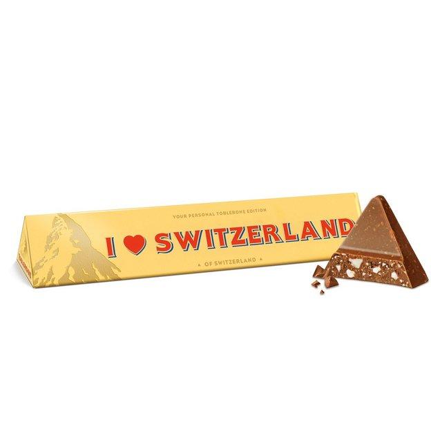 "Chocolat Toblerone ""I ❤️ Switzerland"" (360g)"