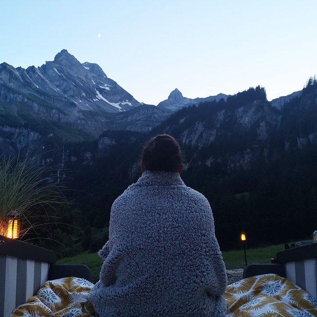 Nuit romantique sous un ciel étoilé, cocon panoramique (2 personnes)