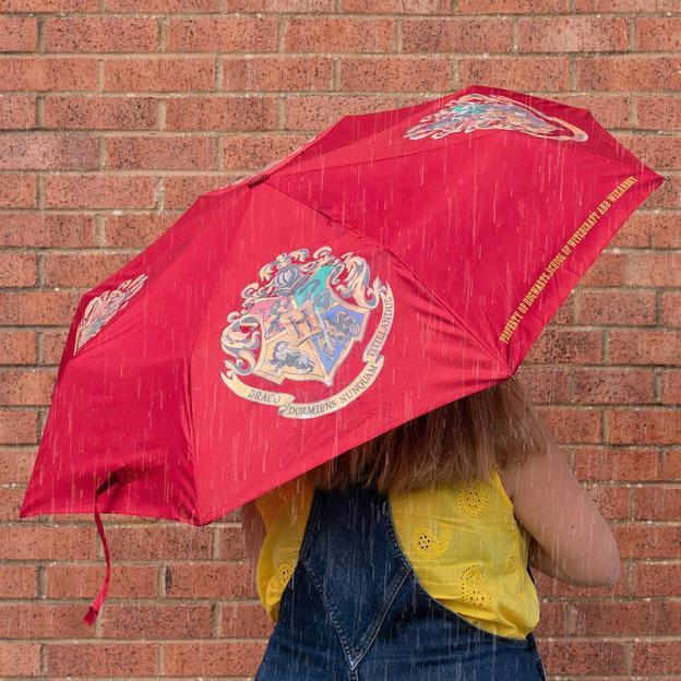 Harry Potter Hogwarts Regenschirm mit Farbwechsel