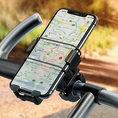 Universal Handyhalter fürs Fahrrad / Motorrad