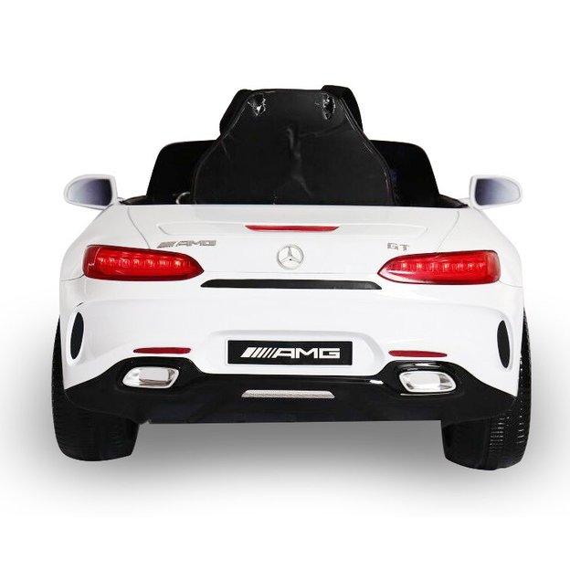 Mercedes GT weiss Elektroauto für Kinder 12V