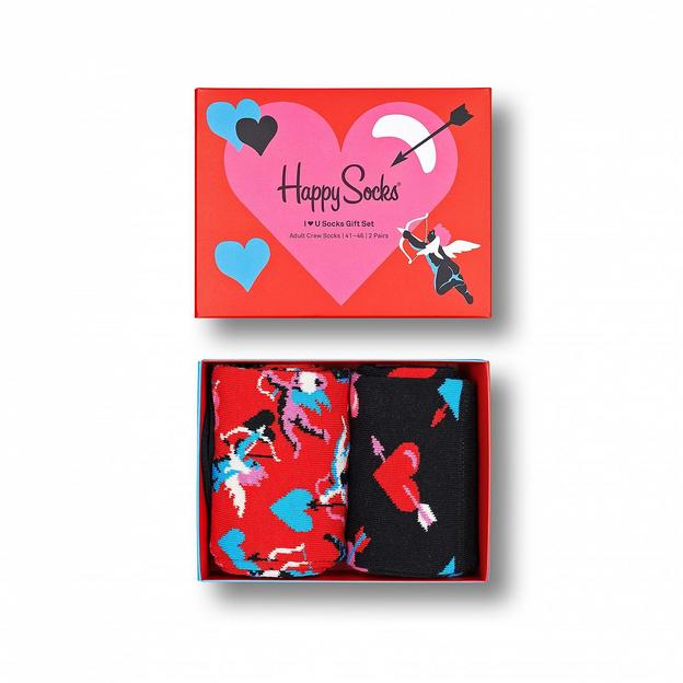 HappySocks I Love You Geschenkset 2er-Set 36-40
