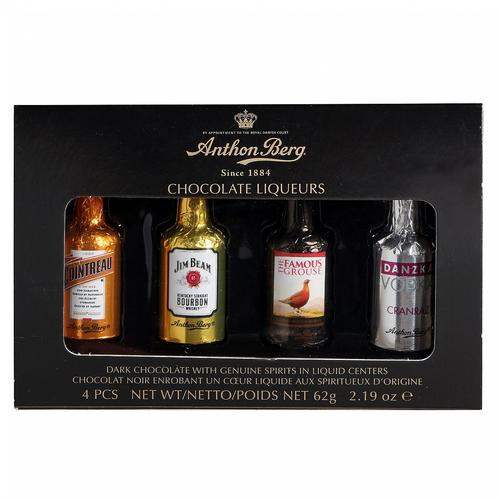 Image of Anthon Berg Chocolate Liqueurs 62g