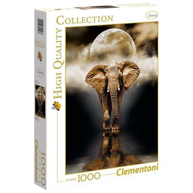 Puzzle Clementoni éléphant, 1000 pièces