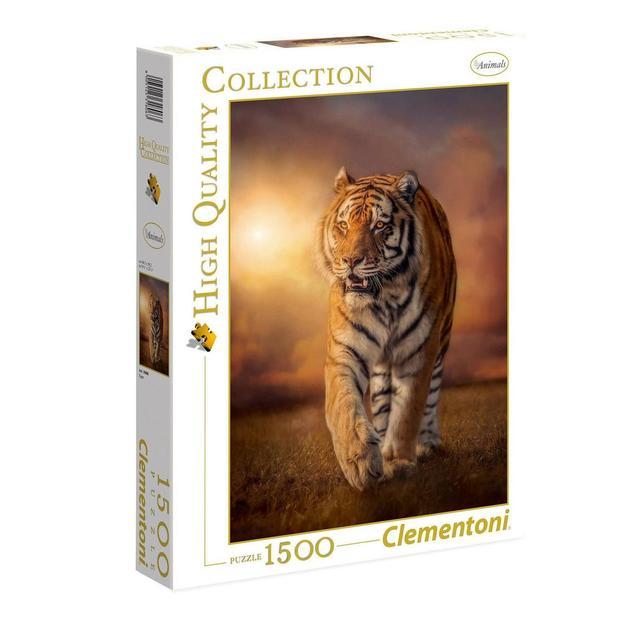 Puzzle Clementoni tigre, 1500 pièces