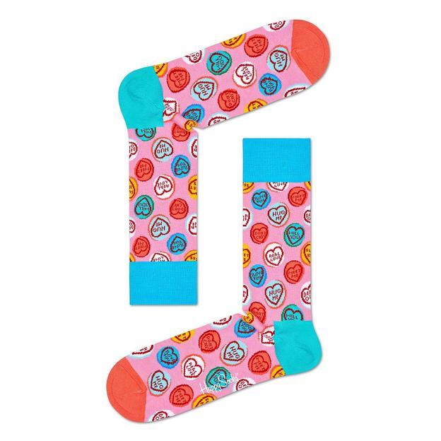 HappySocks 3-Pack Love Hearts Socks Gift Set 41-46