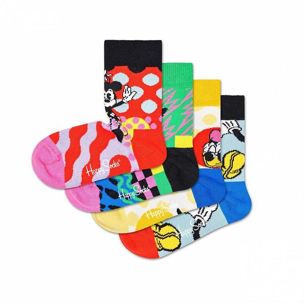 HappySocks 4-Pack Kids Disney Gift Set 0-12M