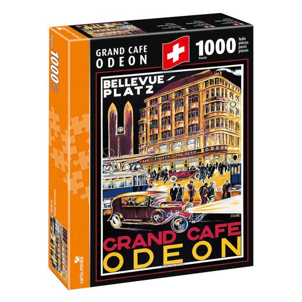 Grand Café Odeon, Zürich - Puzzle 1000-teilig