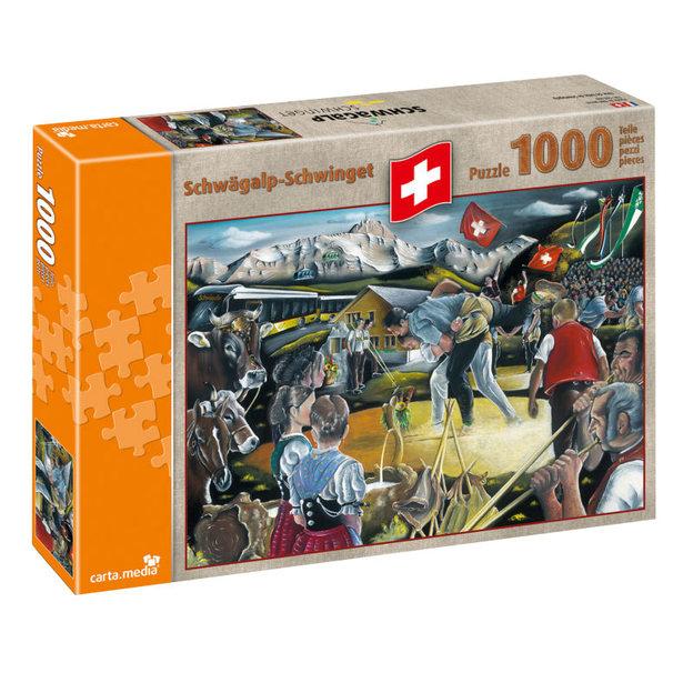 Schwägalp-Schwinget - Puzzle de 1000 pièces