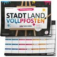 Stadt Land Vollpfosten - Picasso Edition