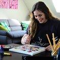 ArtNight Home - male mit Künstlern von deinem Zuhause aus (für 1 Person)