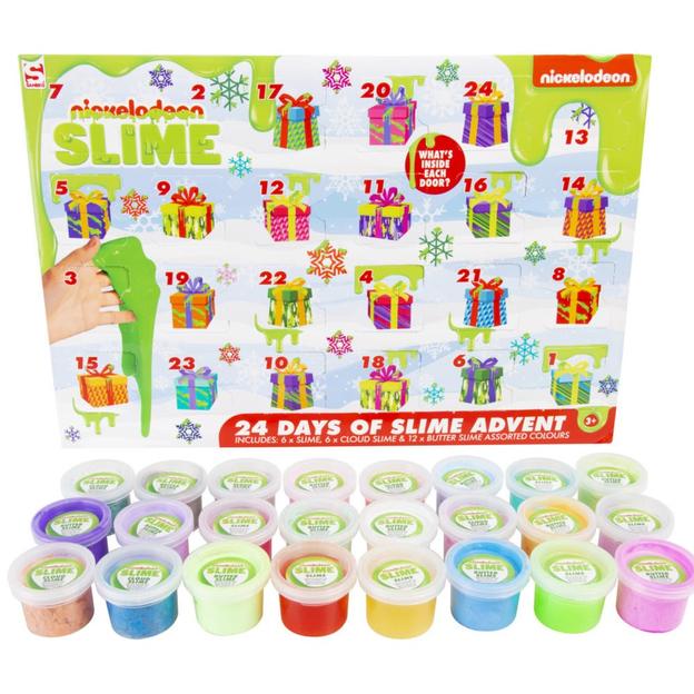 Calendrier de l'Avent Slime Nickelodeon