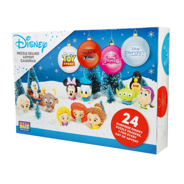 Calendrier de l'Avent Disney, 24 figurines