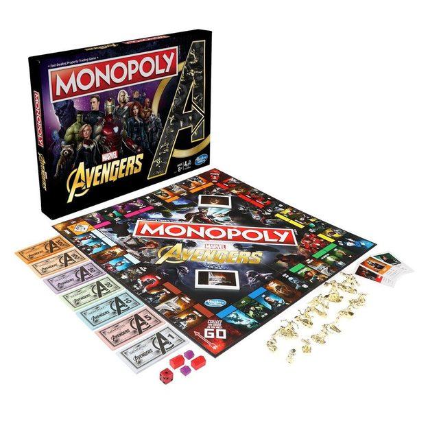 Jeu de société Monopoly Avengers - version anglaise