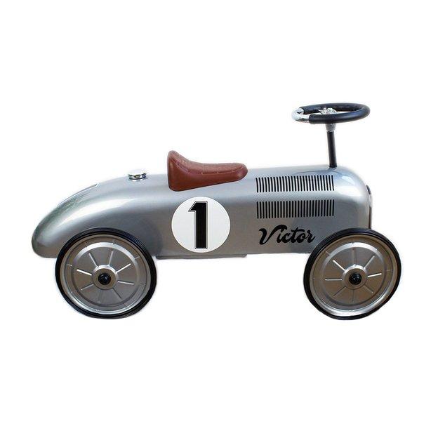 Personalisierbares Rutschauto, Vintageflitzer