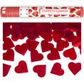 Canon à confettis en forme de cœurs, 40 cm
