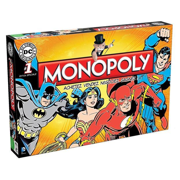 Monopoly DC Comics Originals - français