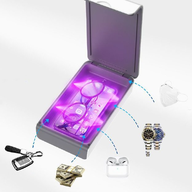 UV Sanitizer Box für dein Smartphone & Co.