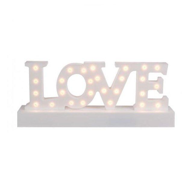 Lettres lumineuses LED, LOVE