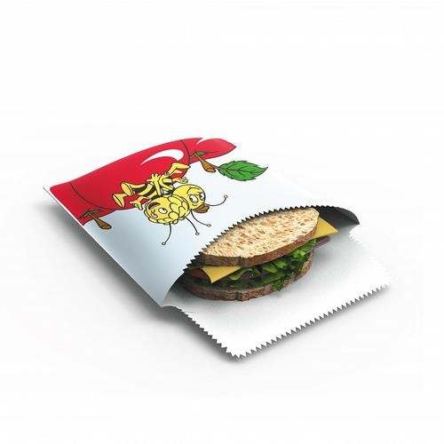 Image of Bienenwachs Sandwichbeutel Biene-Maja 2er Set