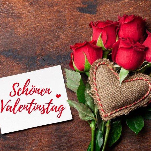 Valentinstag Schritt Mutter