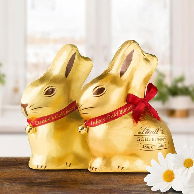 Personalisierter Lindt Goldhase 200 g