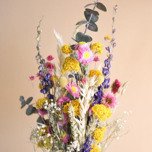 Trockenblumenstrauss Wiesenzauber