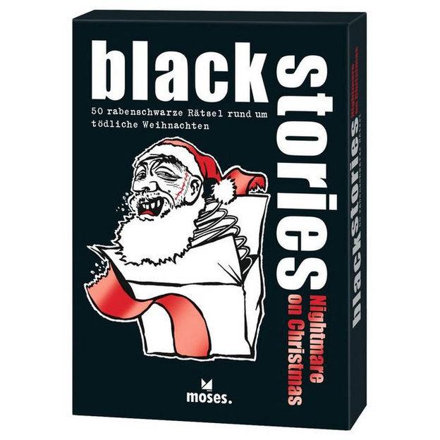 Black Stories Nightmare on Christmas - 50 rabenschwarze Rätsel rund um Weihnachten