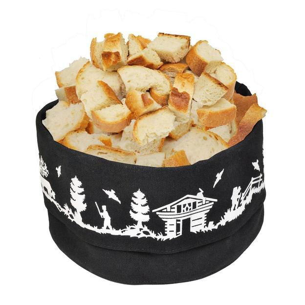 Fondue-Brotkorb aus Baumwolle