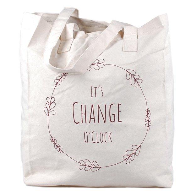 Tasche It's Change o'clock