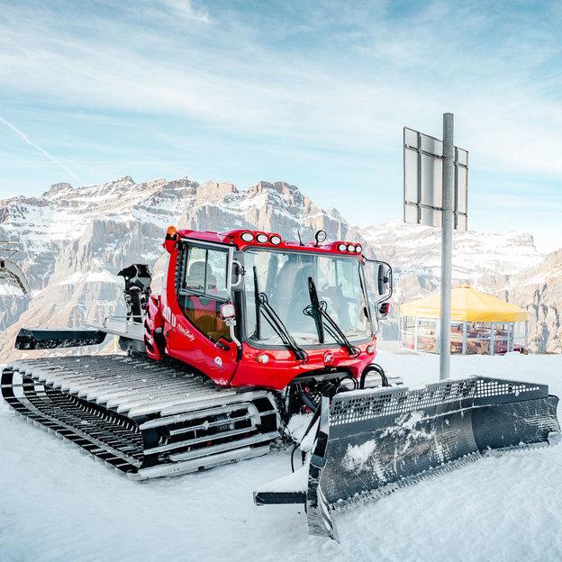 Expérience en dameuse PistenBully, Snowpark Sportarena