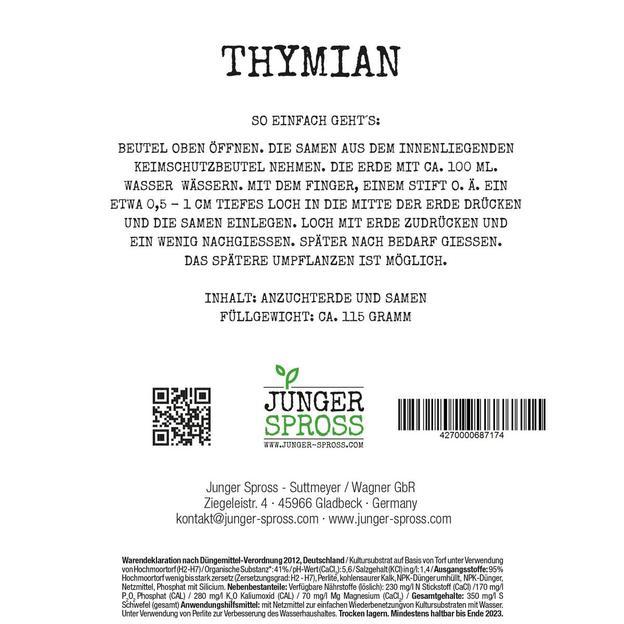 Für dich - Thymian