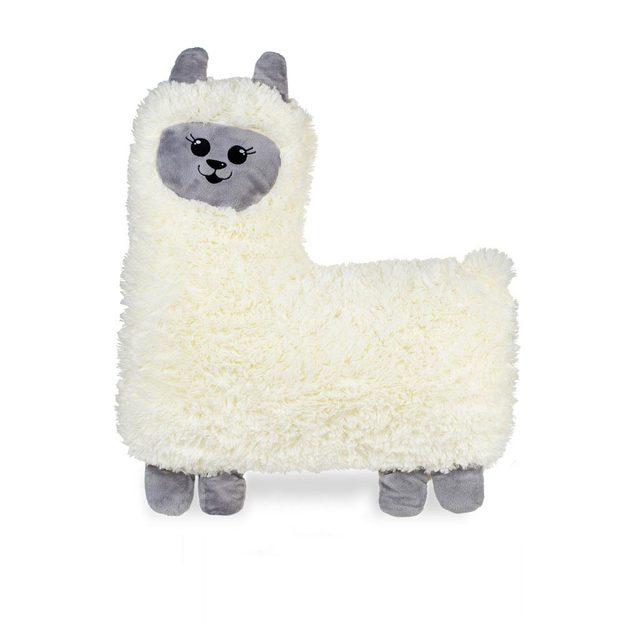 Hugpaca, wärmendes Kirschkern-Kissen Alpaca