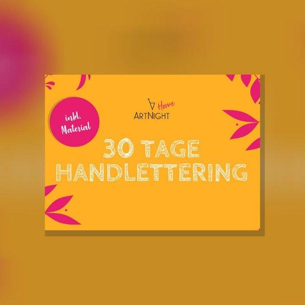 ArtNight Tutorial: 30 Tage Handlettering – inklusive ArtNight Handlettering Set (für 1 Person)