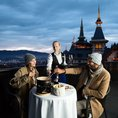 Romantische Übernachtung im Dolder Grand mit Fondue-Erlebnis (Junior Suite Deluxe für 2 Personen)