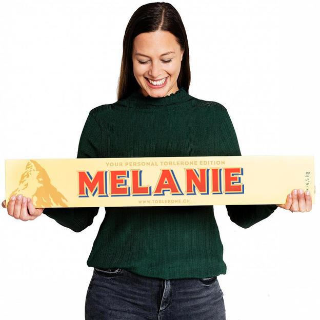 Chocolat TOBLERONE XXL personnalisé (4.5 kg)