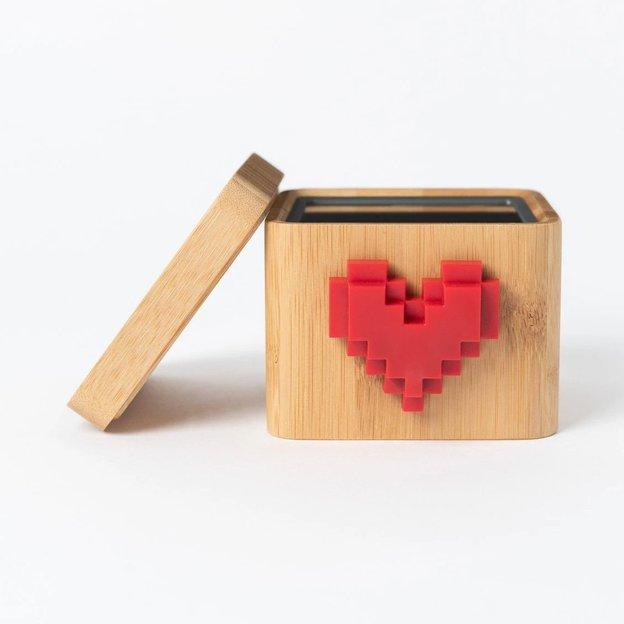 Lovebox Bambus - Sende eine persönliche Botschaft von Herzen