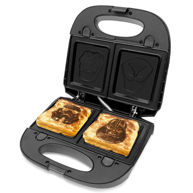 Star Wars Sandwich Toaster Darth Vader & Stormtrooper