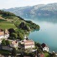 Schifffahrt auf dem Thunersee mit Schlossbesichtigung & Wein (1. Klasse für 1 Person)