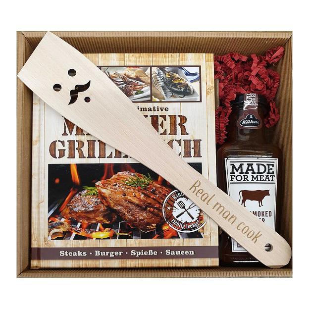 Personalisierbare Geschenkbox das ultimative Männer Grillbuch