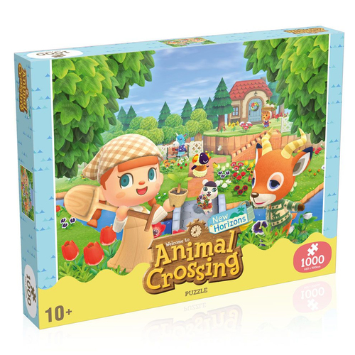 Image of Animal Crossing New Horizons Puzzle Characters 1000-teilig