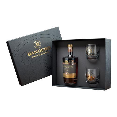 Image of Swiss Copper Rum Set mit 2 Gläser